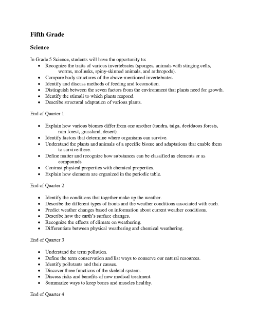 small resolution of Worksheets For 5th Grade Science Project   Printable Worksheets and  Activities for Teachers