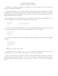 10 Best Images of Distributive Property Worksheets For ...