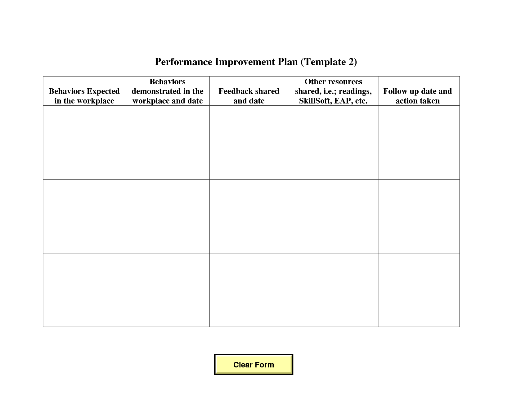 Professional Development Plan Worksheet