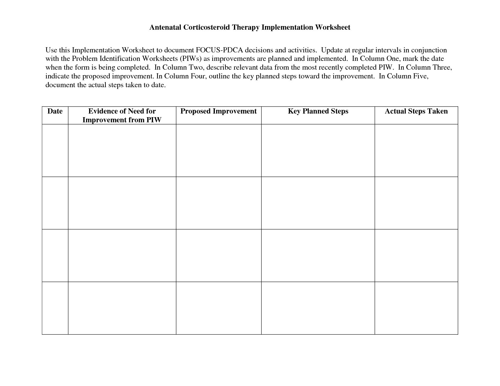 Worksheet wellness recovery action plan worksheets grass for Recovery action plan template