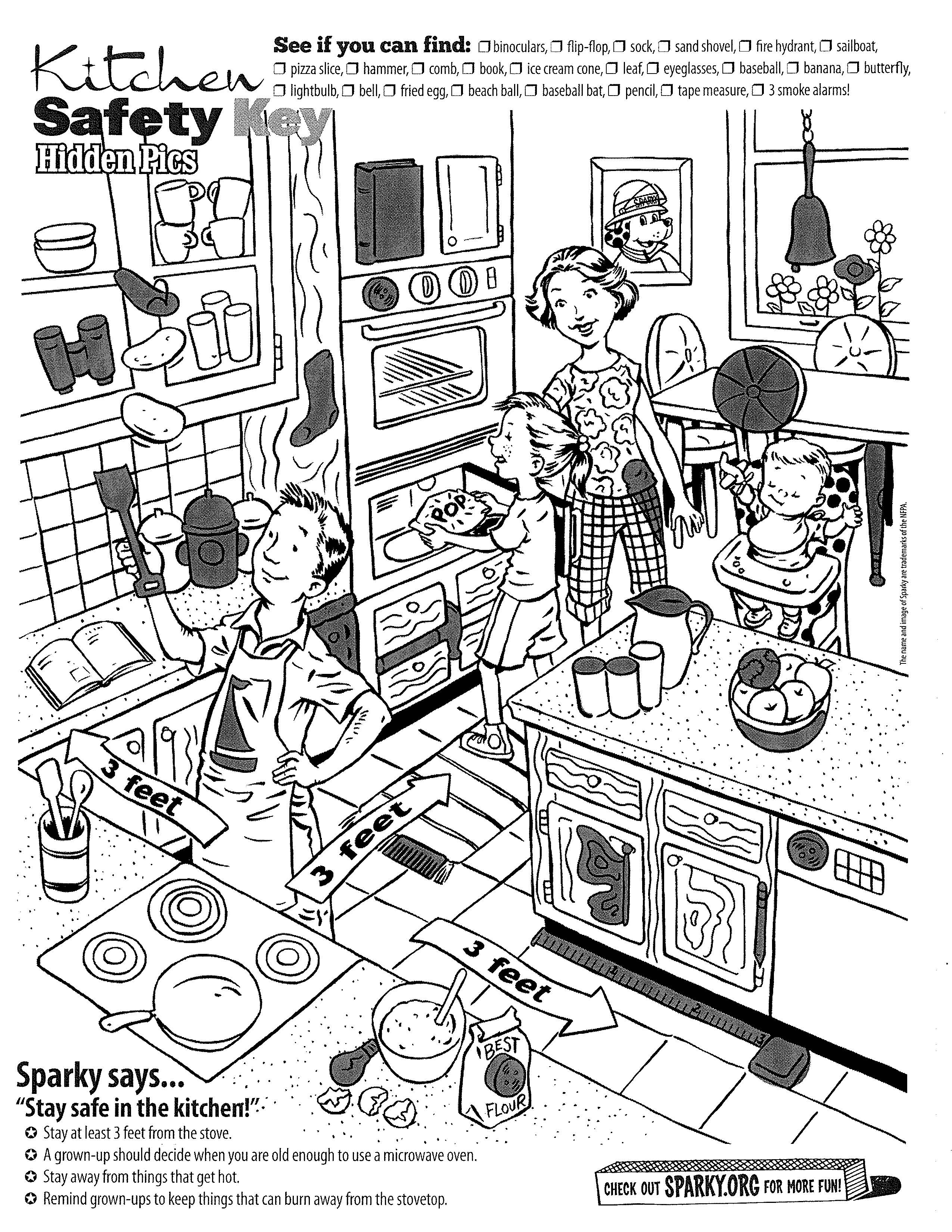 15 Best Images Of Camp Cooking Safety Worksheet