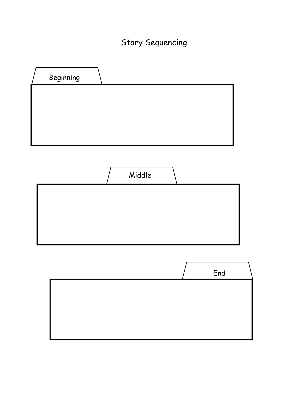 16 Best Images Of Story Sequencing Worksheets First Grade