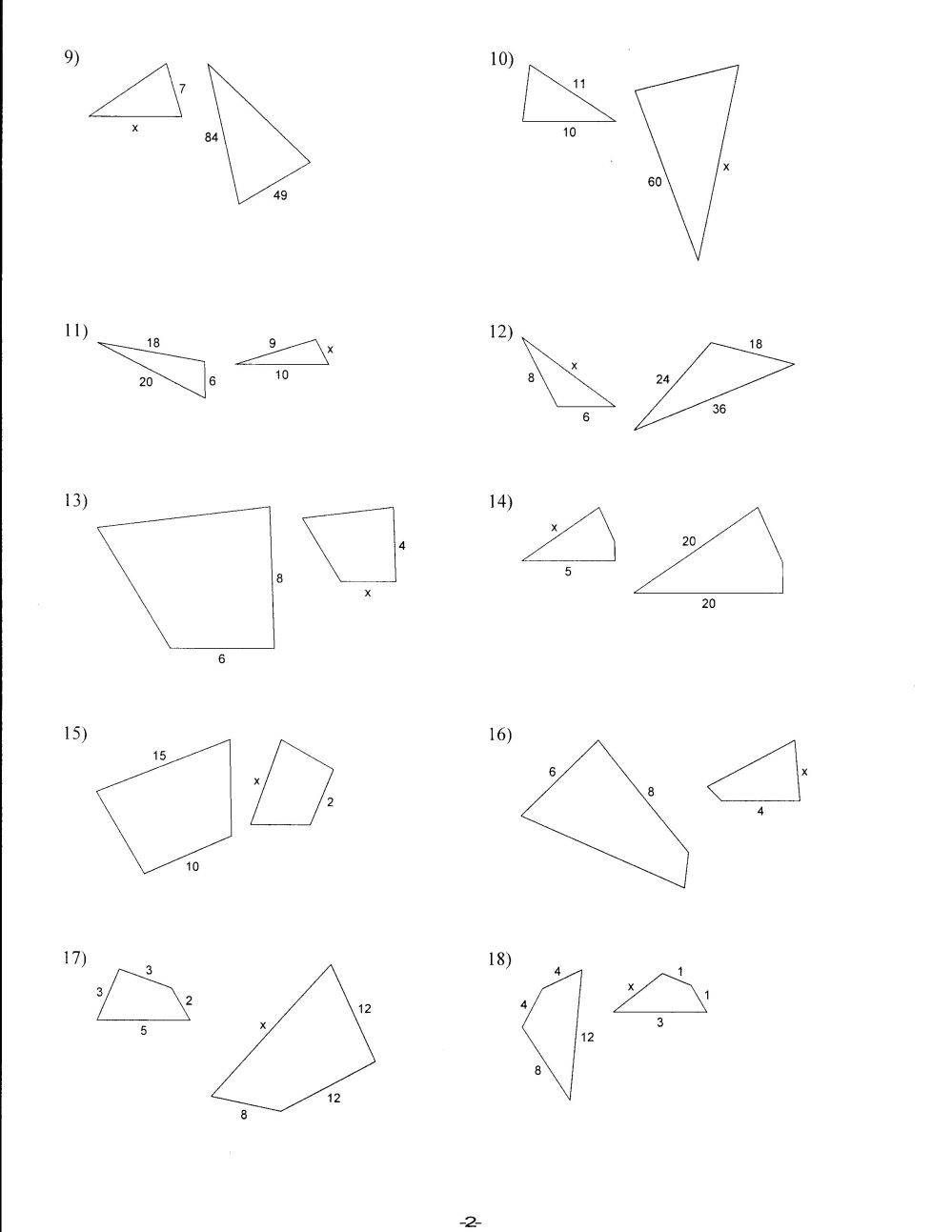 medium resolution of Density And Similar Figures Worksheet   Printable Worksheets and Activities  for Teachers