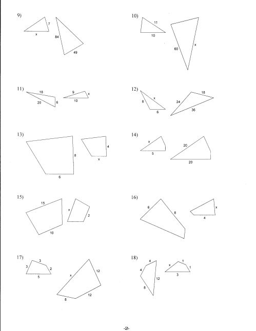 small resolution of Density And Similar Figures Worksheet   Printable Worksheets and Activities  for Teachers