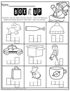 15 Best Images of Kindergarten Sounding Out Words