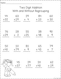 18 Best Images of By Addition Worksheet 1 - Single Digit ...