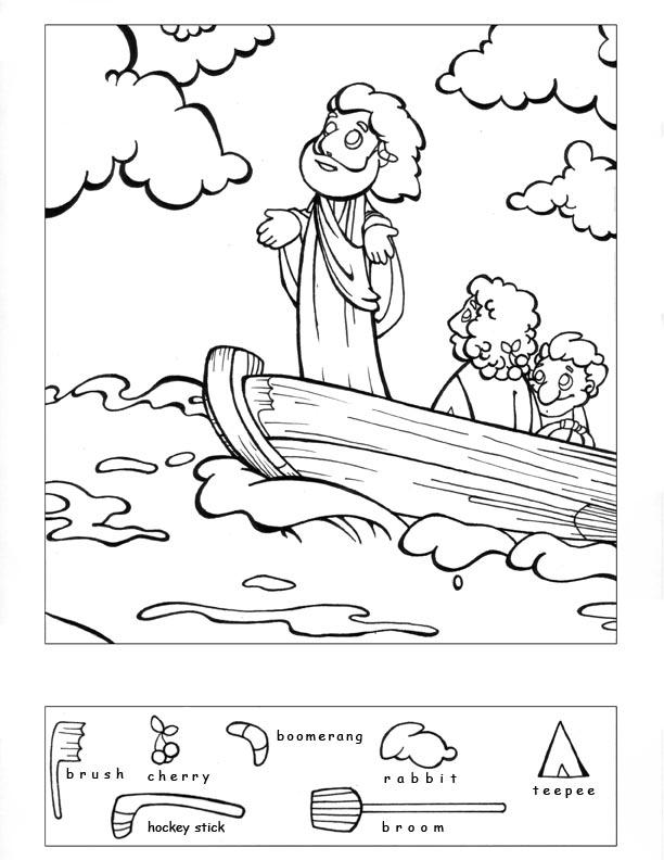 13 Best Images of Bible Worksheets For Preschoolers