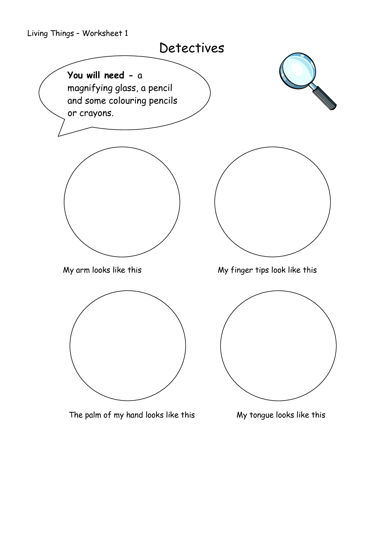 16 Best Images Of Needs Of Living Things Worksheets