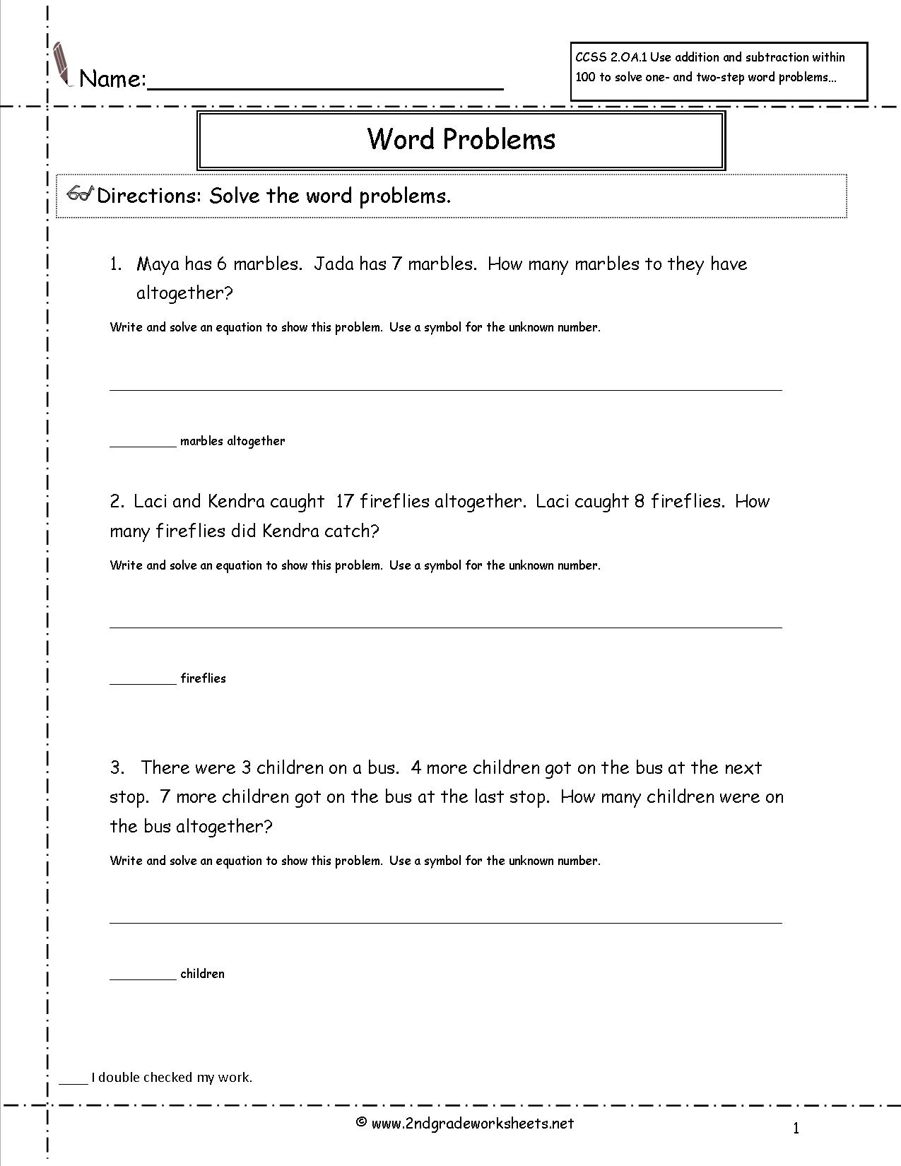 Perimeter Worksheet 5th Grade