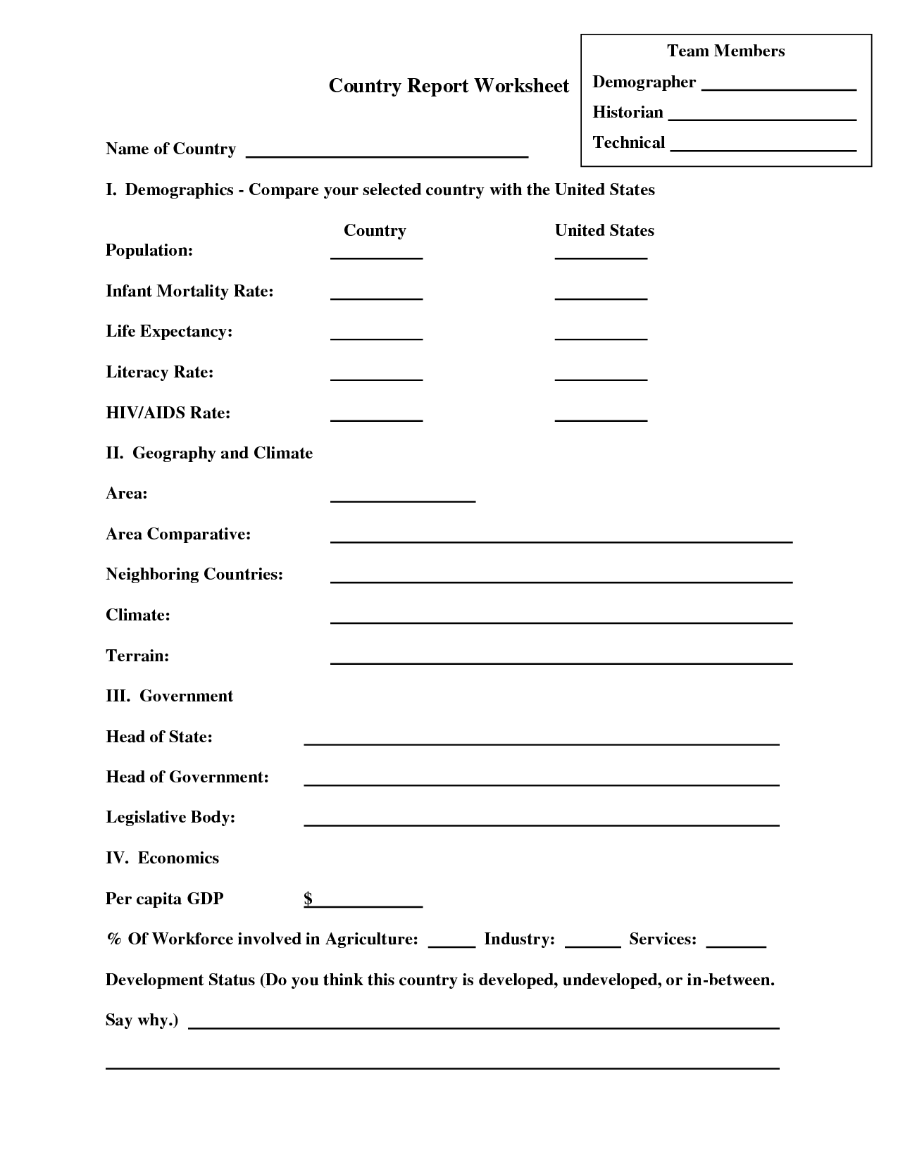 18 Best Images Of Artist Report Worksheet