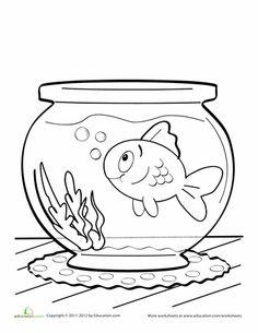 17 Best Images of Rainbow Fish Worksheets Kindergarten