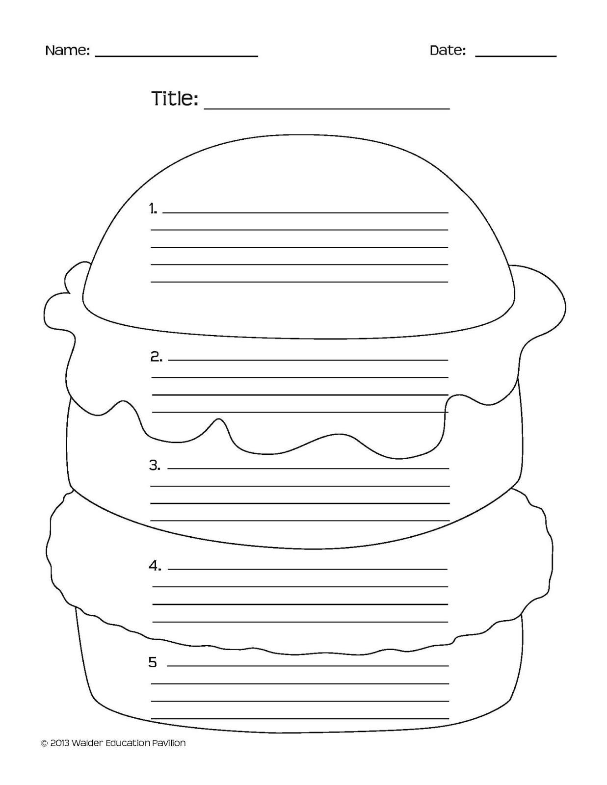 16 Best Images Of Printable Persuasive Writing Worksheets