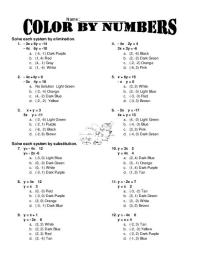 15 Best Images of Systems Of Equations Worksheets Printing ...