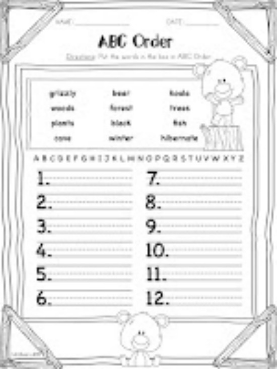 17 Best Images of Daily Worksheets For Kindergarten