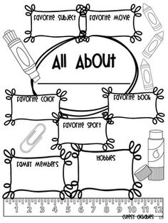 5 Best Images of First Day Of School Goals Worksheets