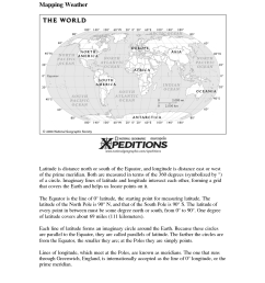 Worksheets Longitude And Latitude Usa   Printable Worksheets and Activities  for Teachers [ 1650 x 1275 Pixel ]