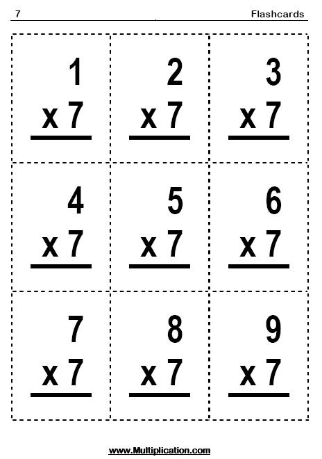 17 Best Images of Blank Multiplication Fact Worksheet
