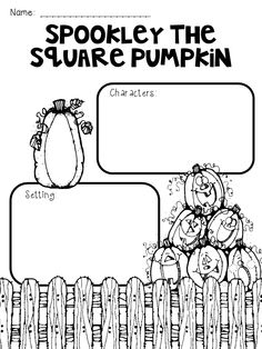 15 Best Images of Spookley The Square Pumpkin Worksheets