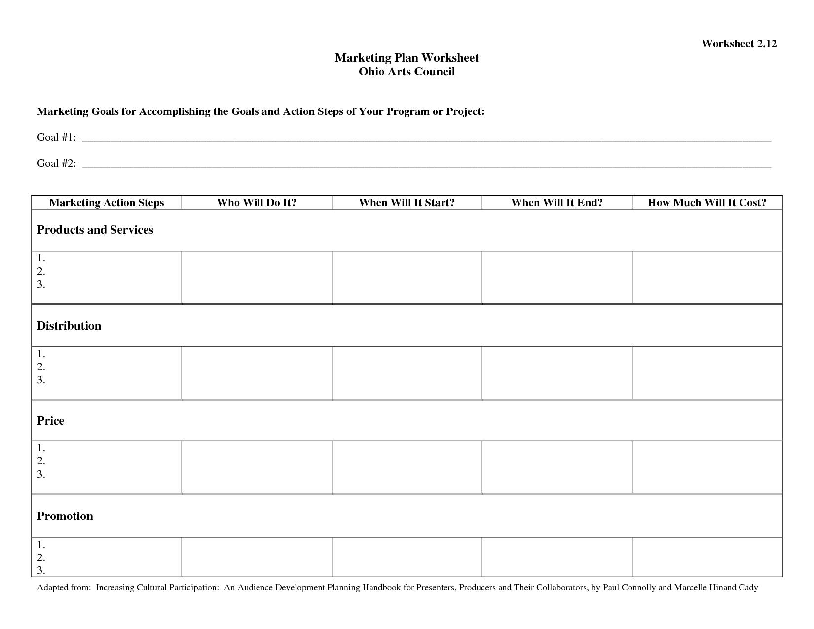 Download Action Plan Worksheet