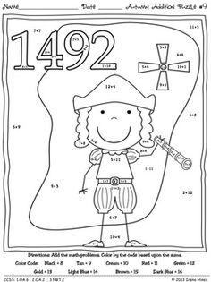 11 Best Images of Coloring Worksheets Math Skills
