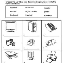 Office Chair Levers Bedroom Set 13 Best Images Of Basic Computer Parts Worksheet - Basics Worksheet, ...