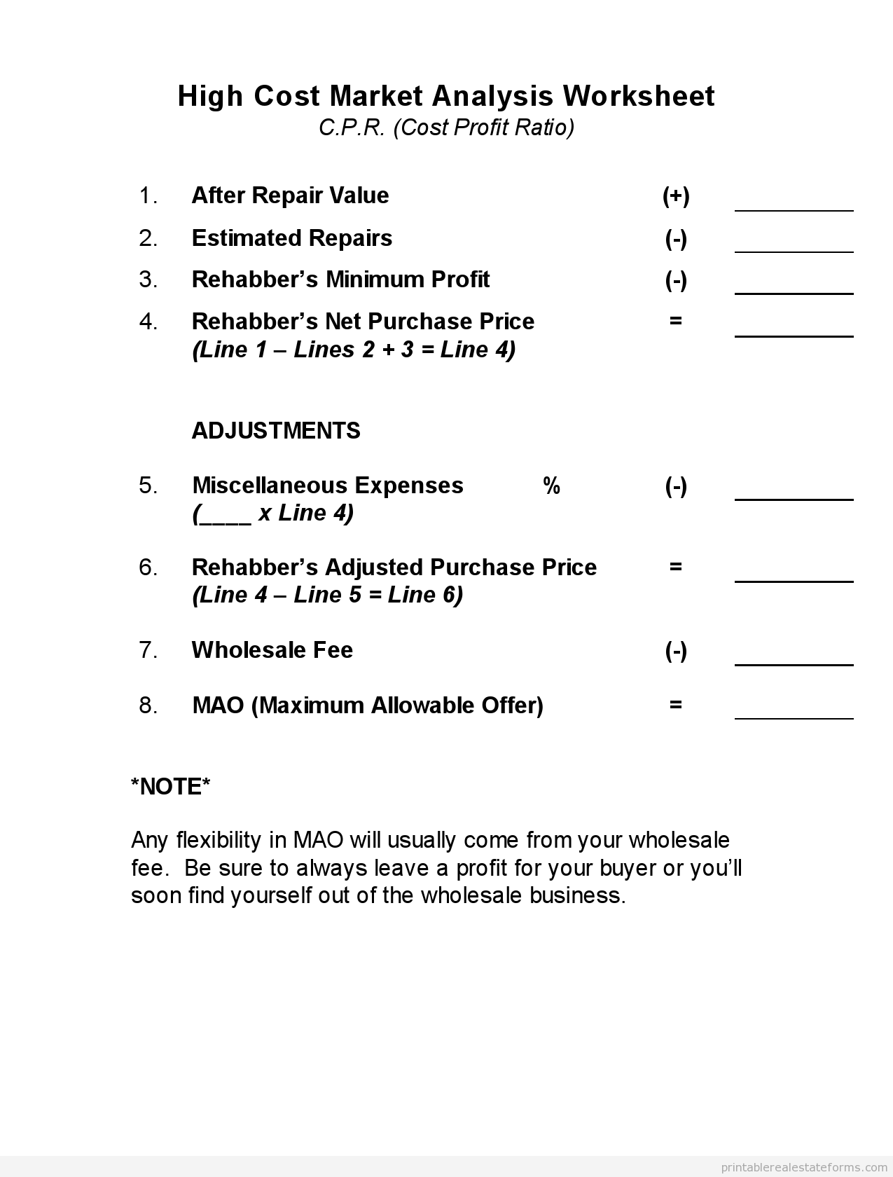 10 Best Images Of Business Forms Worksheet Econ