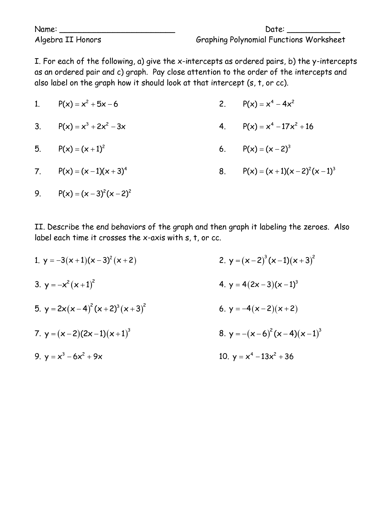 Tables Graphs Equations Functions Worksheet