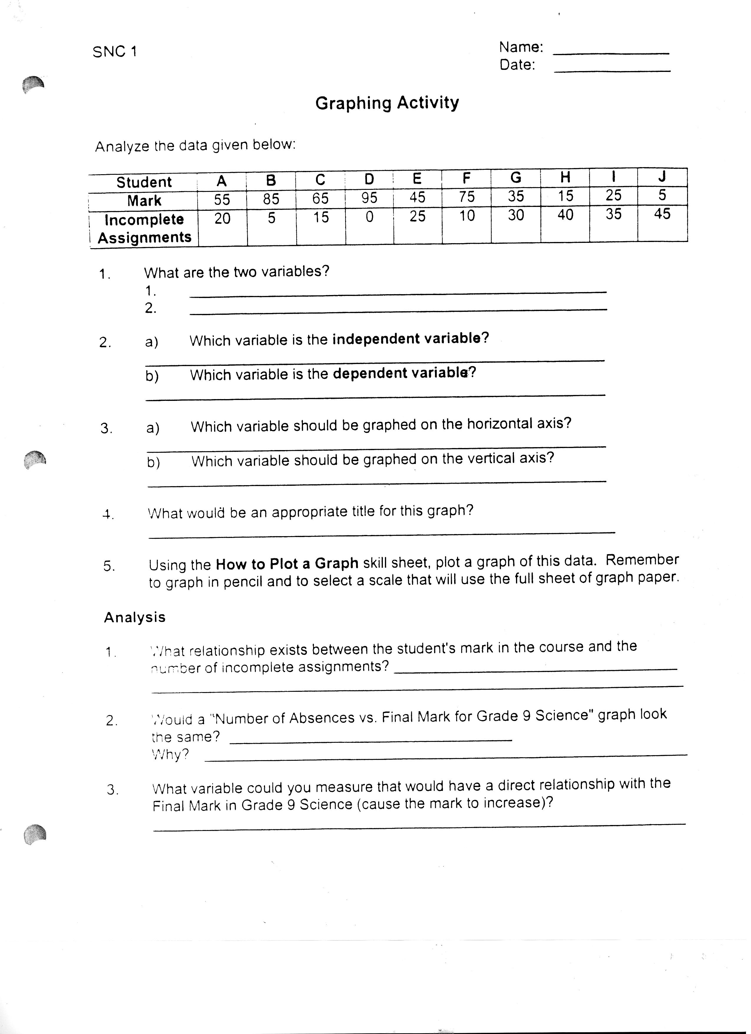 14 Best Images Of Science Scientific Method Worksheet