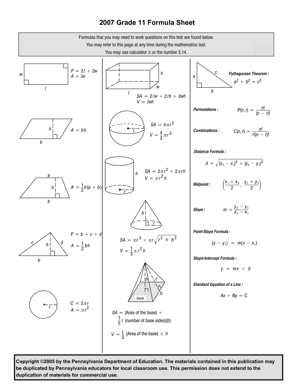 Touchpoint Math Worksheets