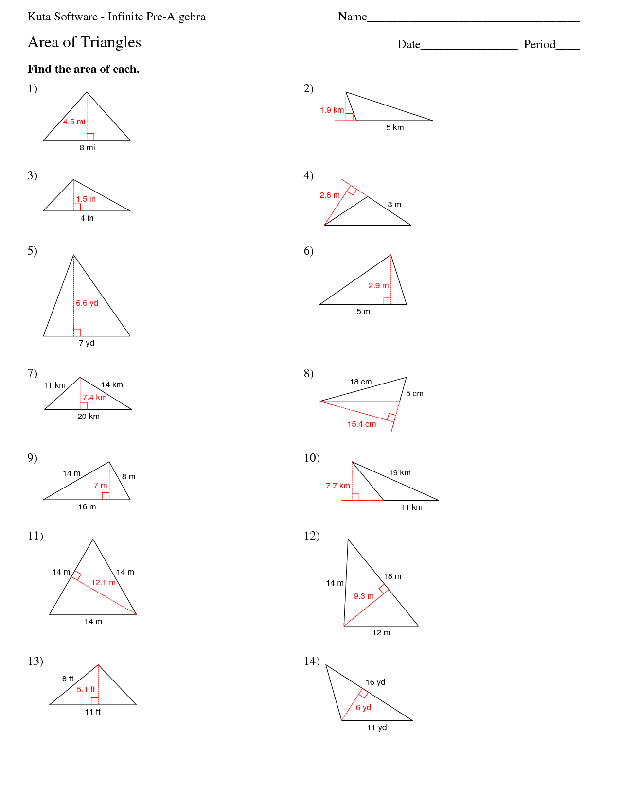 19 Best Images Of Right Triangle Trig Worksheets