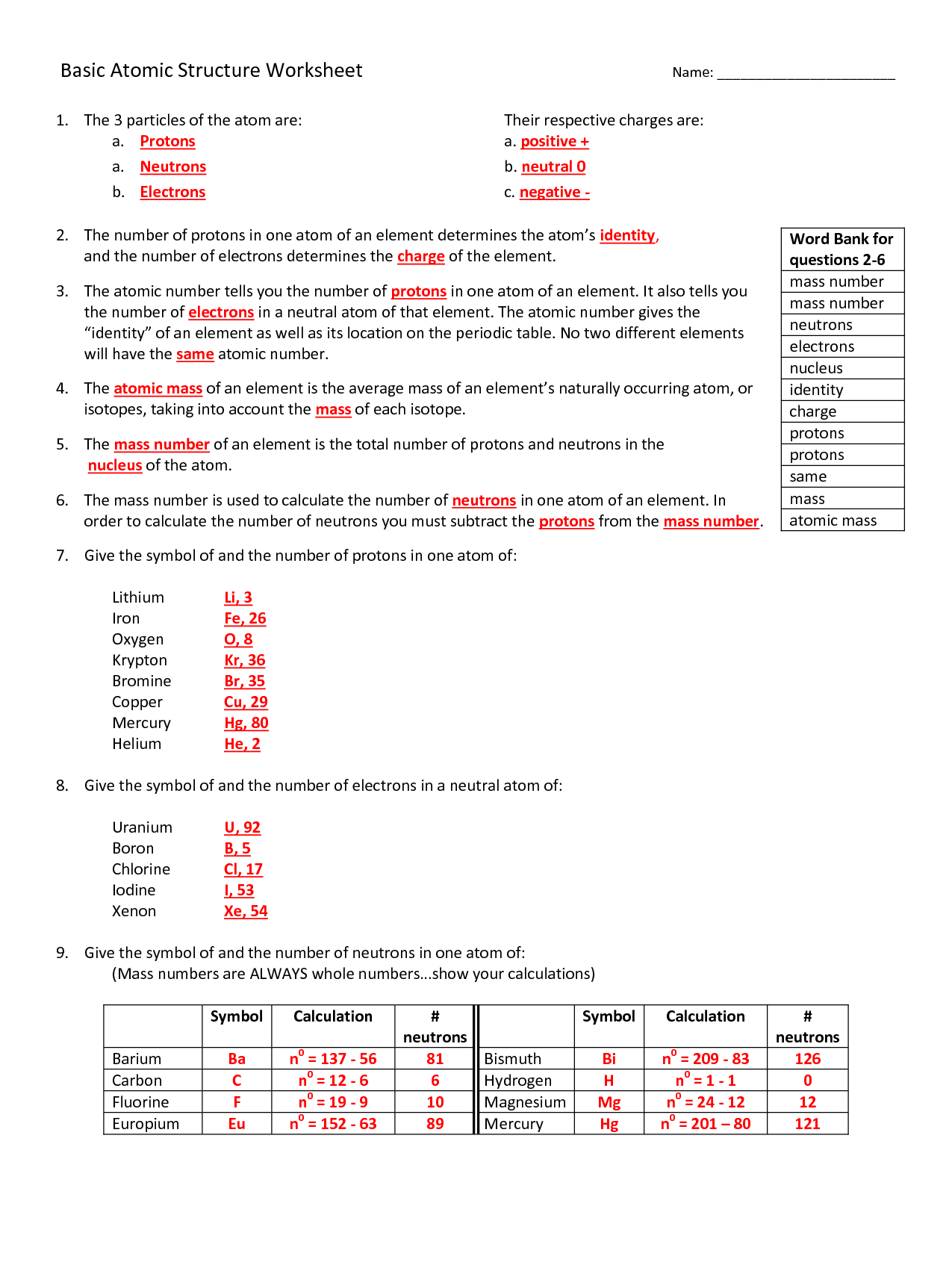 bohr diagram worksheet answer key heatcraft freezer wiring 12 best images of atomic structure
