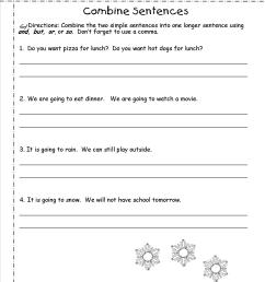 1st Grade Sentence Correction Worksheets   Printable Worksheets and  Activities for Teachers [ 1650 x 1275 Pixel ]