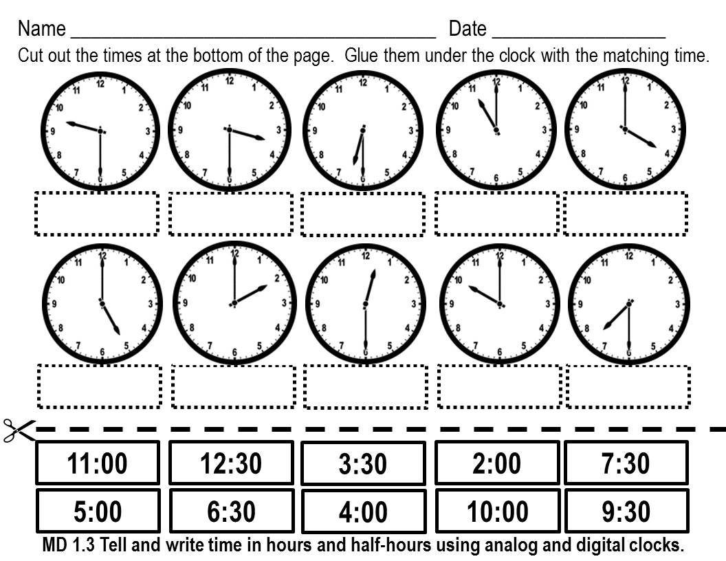14 Best Images Of Telling Time Worksheets Multiple Choice