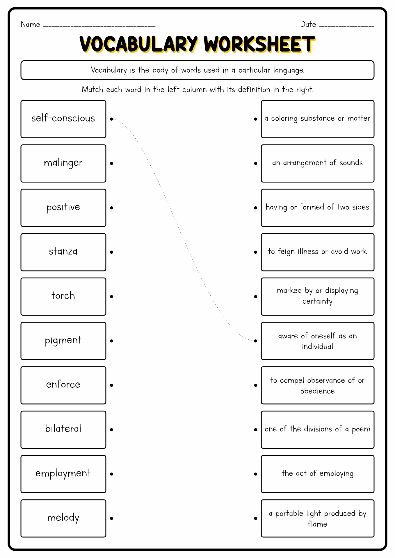17 Best Images Of 9th Grade Vocabulary Worksheets
