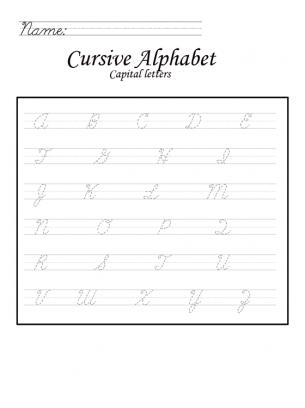 All Worksheets » Letter Formation Worksheets Az