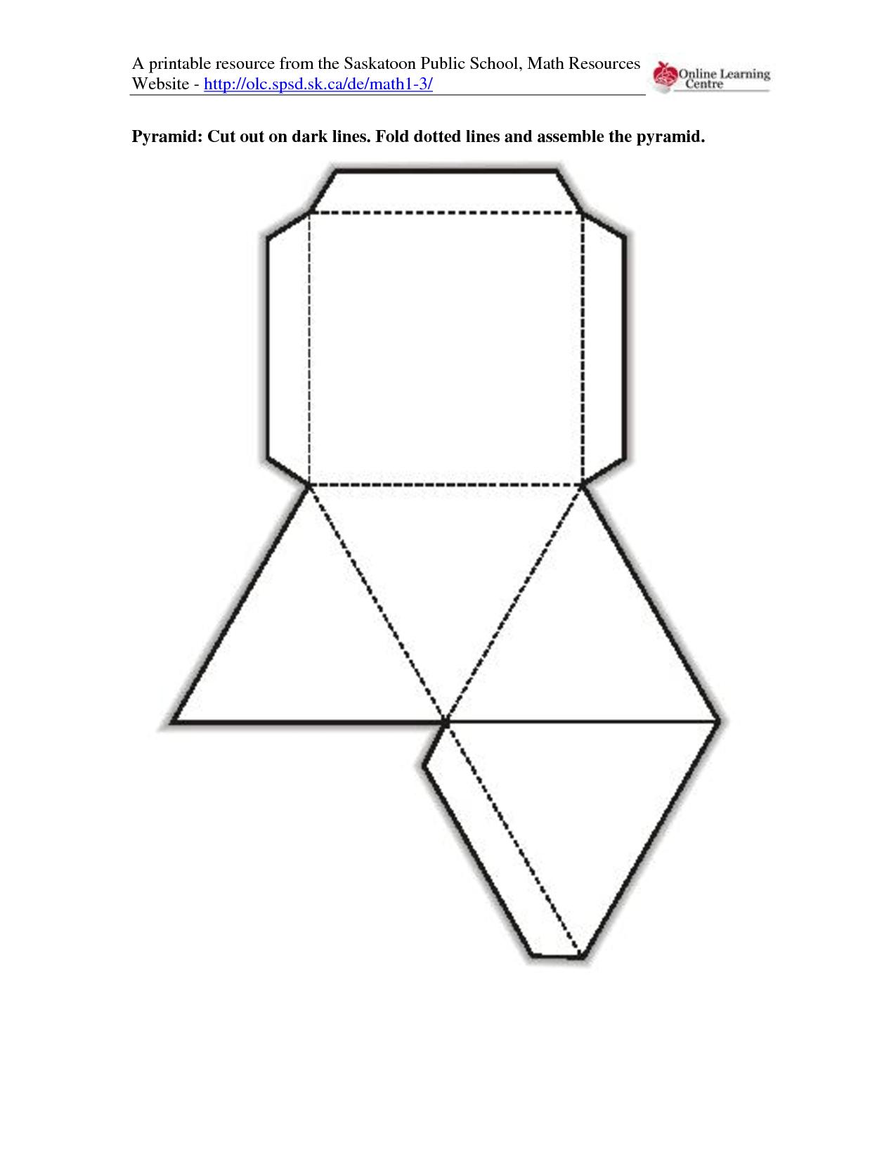 10 Best Images Of Rectangular Prisms Worksheet Printable