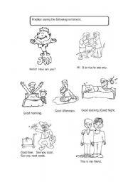 17 Best Images of Basic Spanish Greetings Worksheets