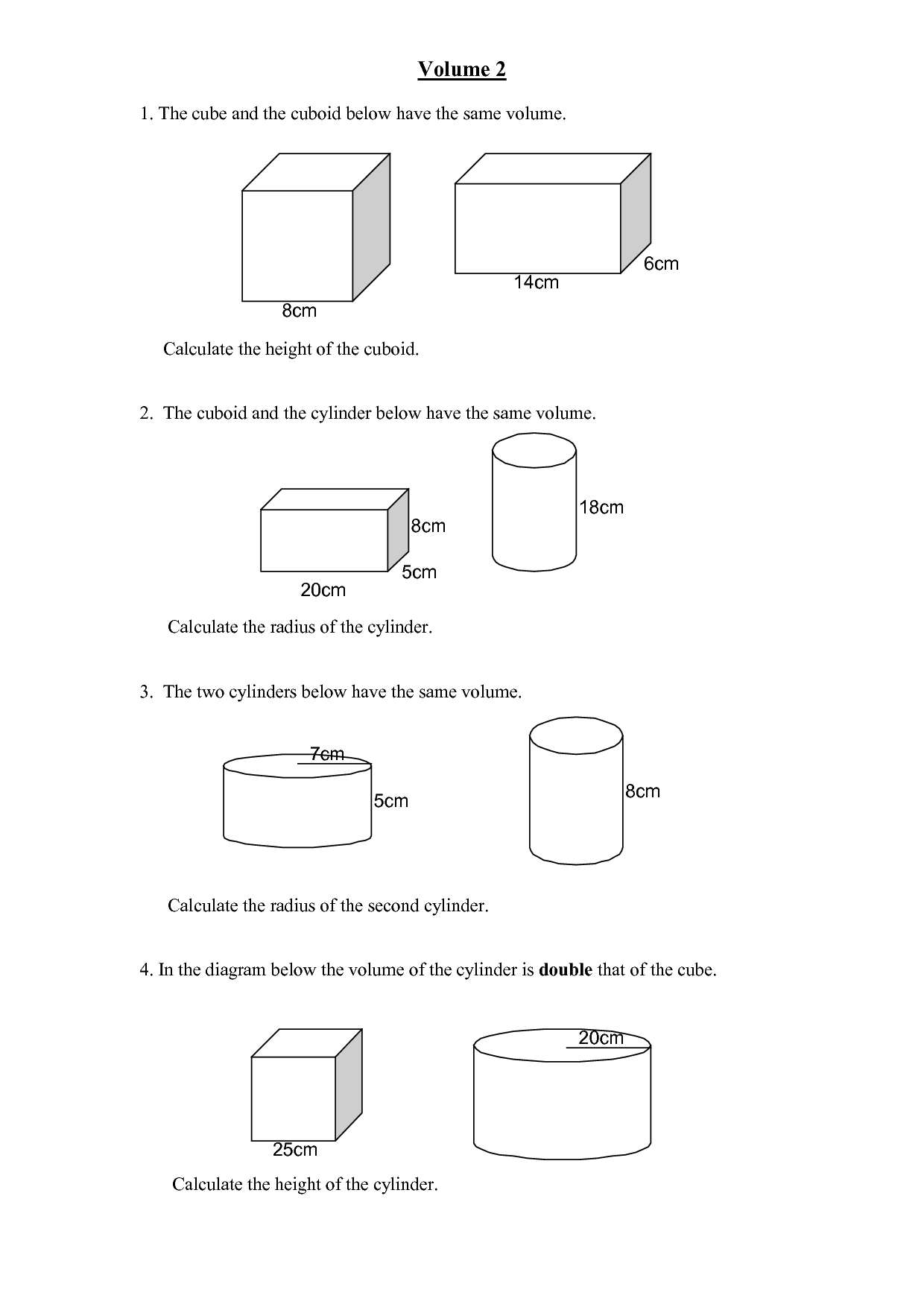 10 Best Images of Rectangular Prisms Worksheet Printable