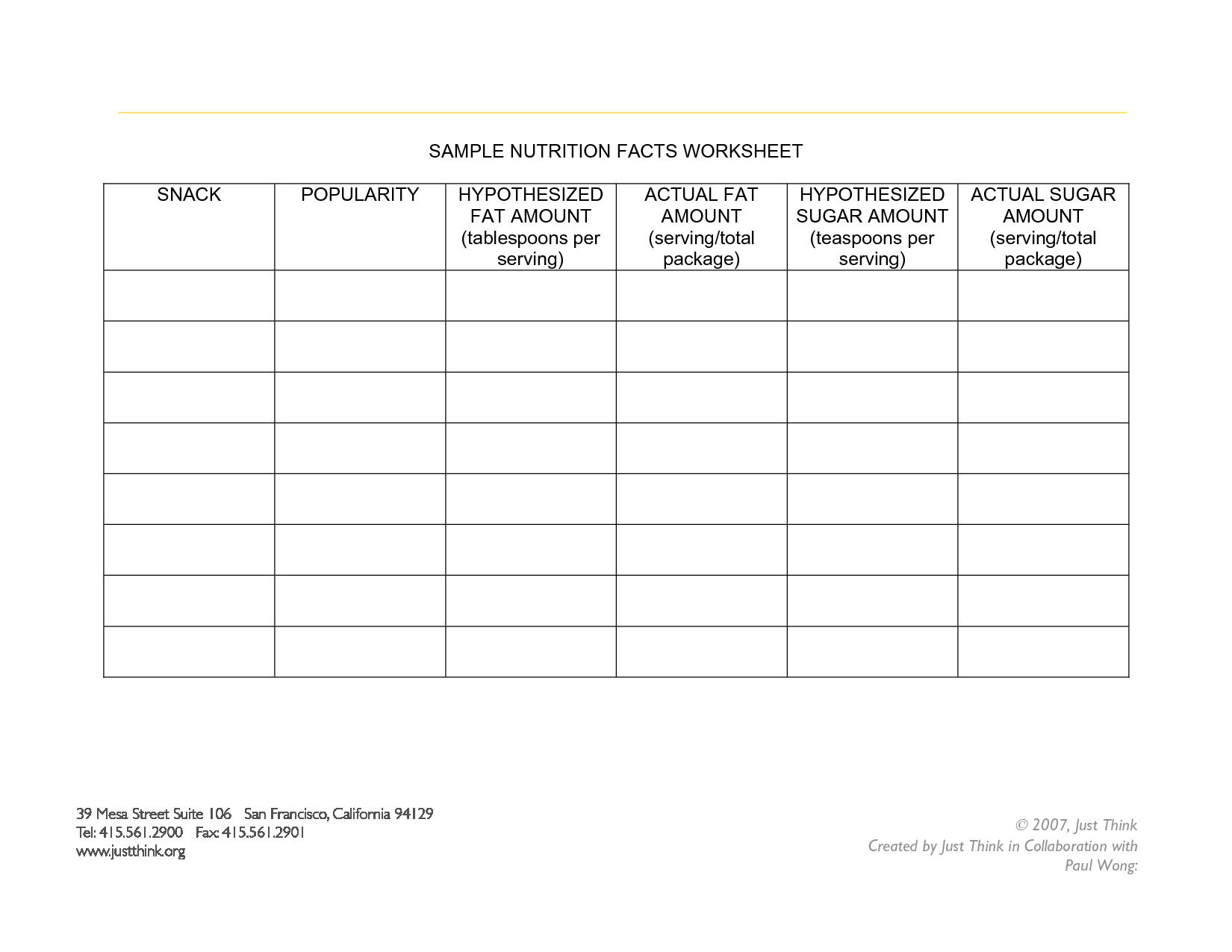 Among The Hidden Worksheet Free
