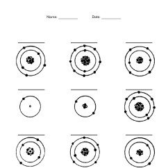 Parts Of An Atom Diagram Sony Xplod Cdx Gt71w Wiring 12 Best Images Label Worksheet Drawing Atoms