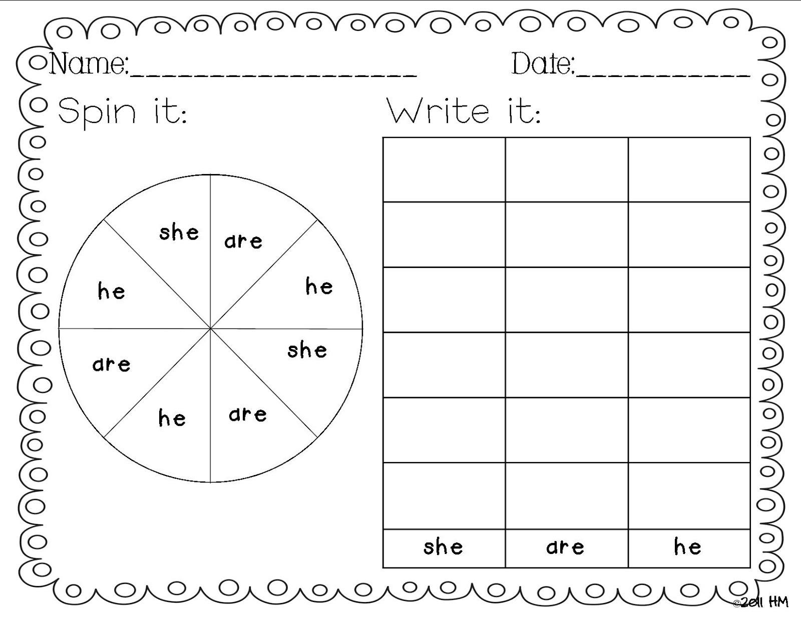 18 Best Images Of Sight Word Sentences Worksheets