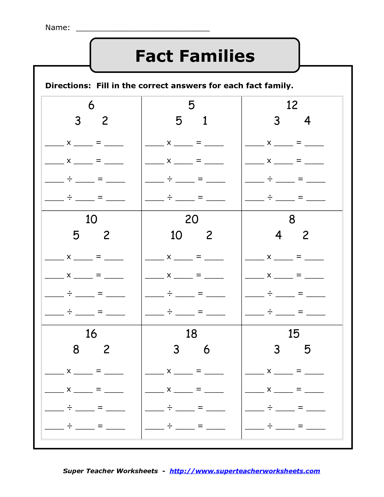 Triangle Towers Multiplication Worksheet