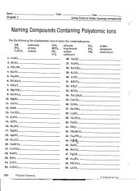 12 Best Images of Naming Ionic Compounds Worksheet ...