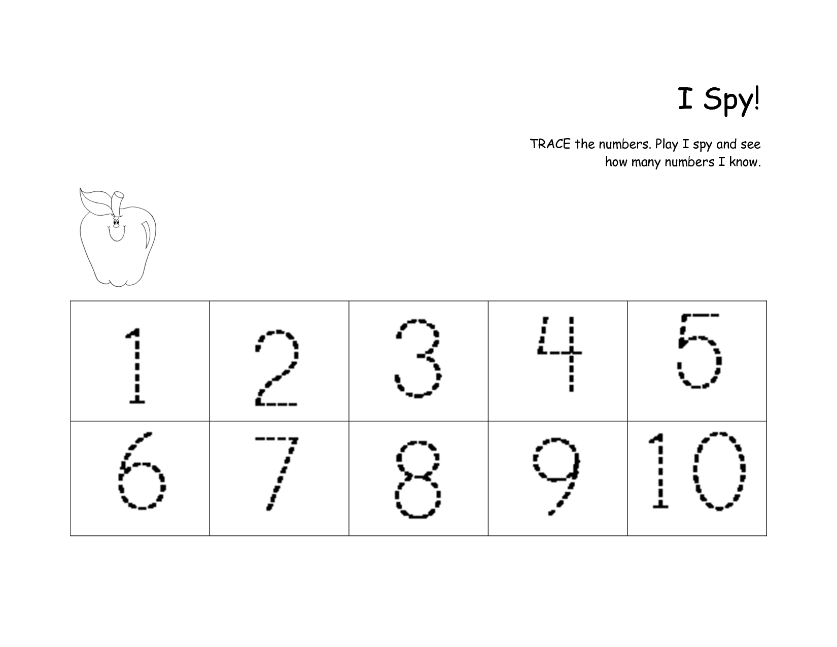 14 Best Images Of Numbers 1 20 Practice Worksheets