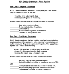 Free Grammar Worksheets Printable 5th Grade   Printable Worksheets and  Activities for Teachers [ 1650 x 1275 Pixel ]