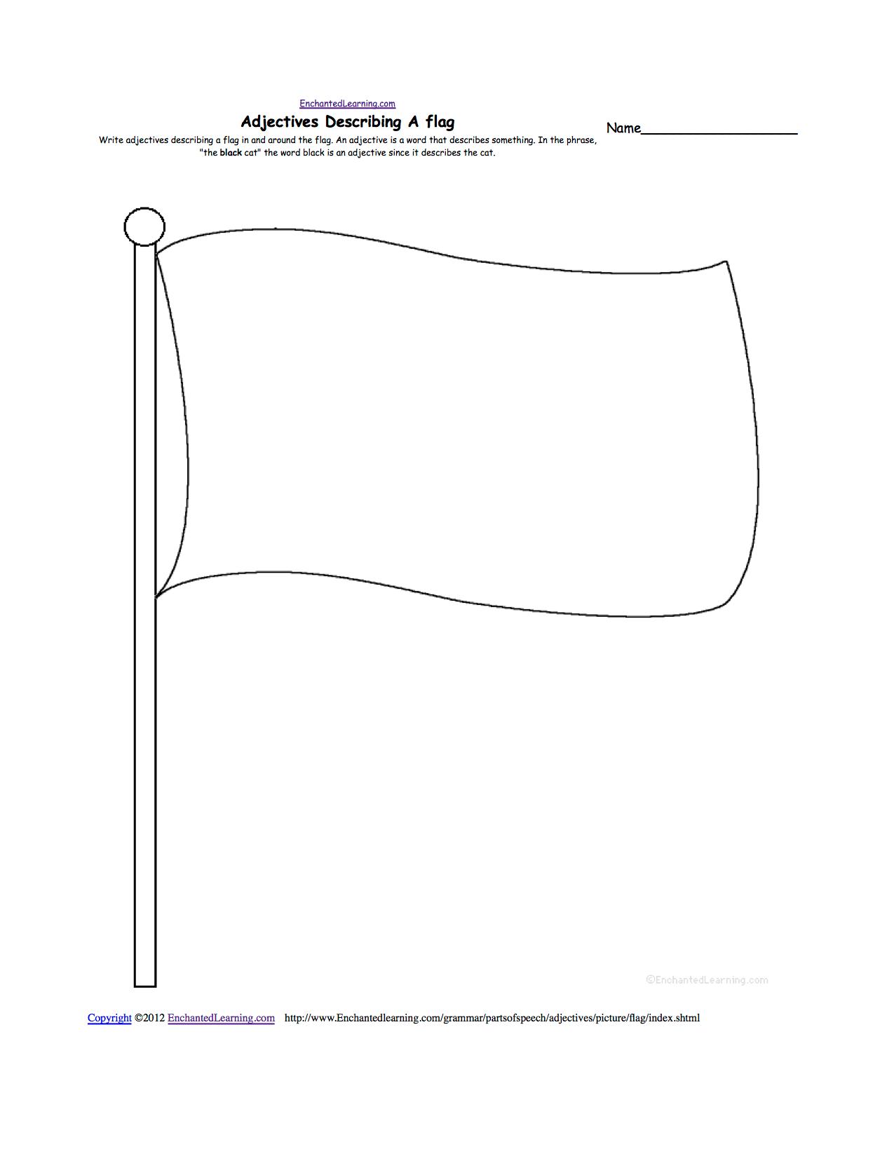8 Best Images Of Country Flag Worksheet