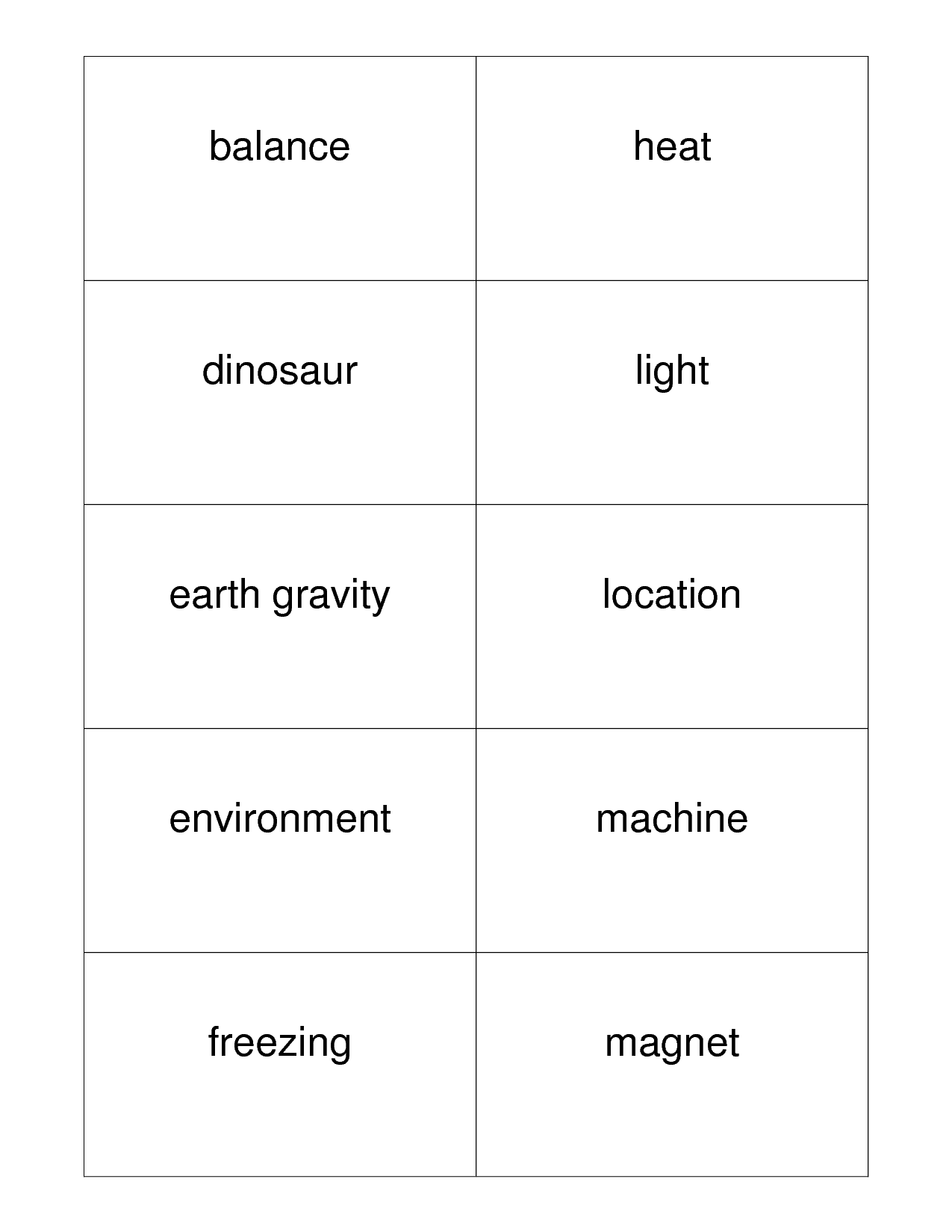14 Best Images Of Earth Science Worksheets 1st Grade