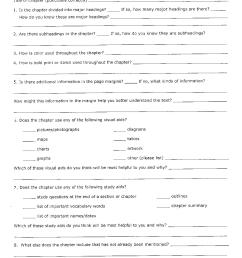 Text And Graphic Features Worksheets   Printable Worksheets and Activities  for Teachers [ 1740 x 1275 Pixel ]
