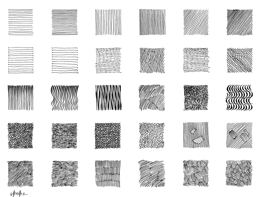 14 Best Images Of Pen And Ink Texture Worksheet
