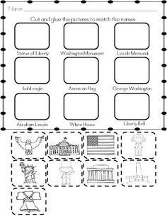 15 Best Images of Free Printable Worksheets American